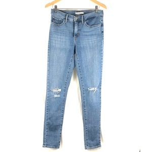 Levi's 311 high rise shaping skinny jeans 👖